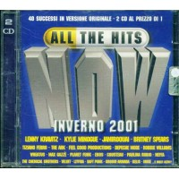 All The Hits Now Inverno 2001 - Kravitz/Spears/Minogue/Jamiroquai 2x Cd