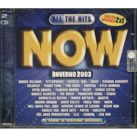 All The Hits Italia Inverno 2003 - Consoli/Paola E Chiara/Renga Cd
