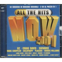 All The Hits Now 2001 - U2/Placebo/Goldfrapp/Coldplay/Paola & Chiara 2 Cd