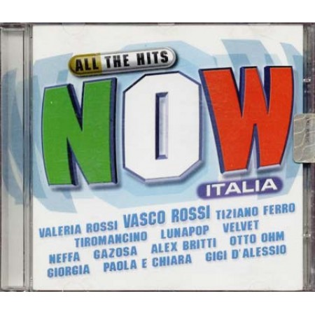 All The Hits Now Italia - Vasco/Tiziano Ferro/Paola & Chiara/D' Alessio Cd
