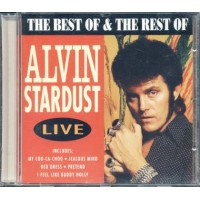 Alvin Stardust Live - The Best & The Rest Of Cd