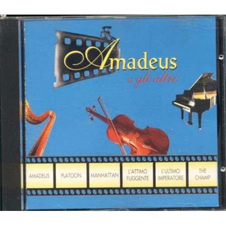 Amadeus E Gli Altri - Mozart/Beethoven/Strauss/Wagner/Ravel/Gershwincome Nuo Cd