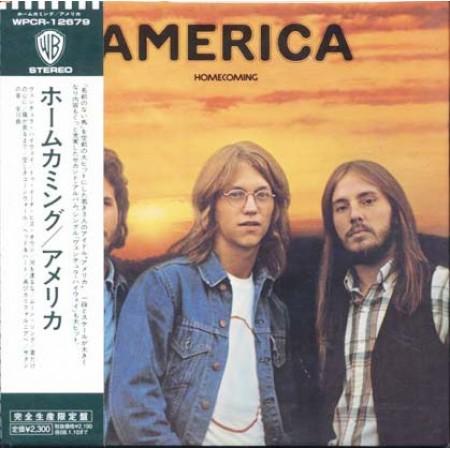 America - Homecoming Japan Obi Vinyl Replica Cd