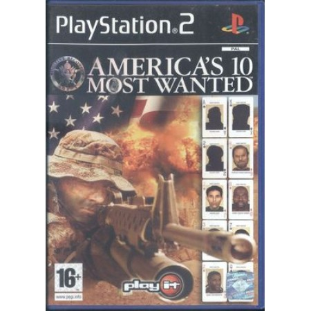 America'S Most Wanted Italiano Ps2