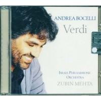 Andrea Bocelli - Verdi (Zubih Mehta) Cd