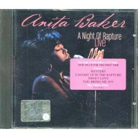 Anita Baker - A Night Of Rapture Live Cd