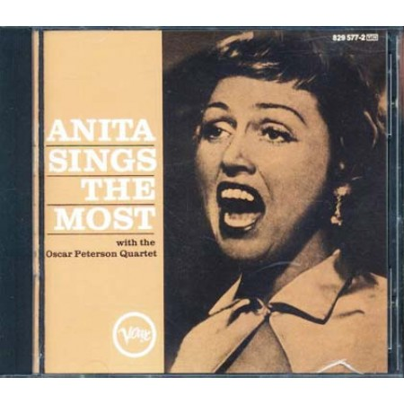 Anita O'Day - Anita Sings The Most With The Oscar Peterson Quartet Cd