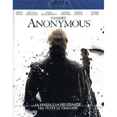 Anonymous - Rhys Ifans/Vanessa Redgrave (Shakespeare) Blu Ray