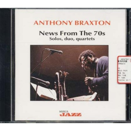 Anthony Braxton - News From The 70S Dave Holland/Duhamel/Mechali Cd