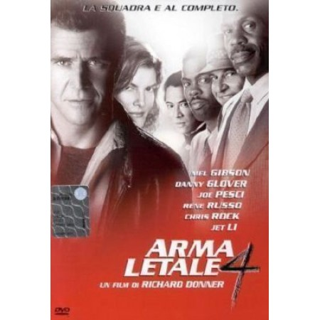 Arma Letale 4 - Mel Gibson/Glover Snapper Dvd