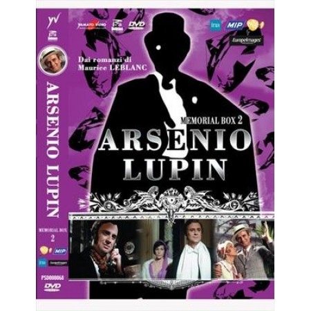 Arsenio Lupin Memorial Box 2 4X Dvd