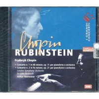 Arthur Rubinstein - Concerto N 1 E N 2 Chopin Cd