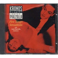 Astor Piazzolla Kronos Quartet - Five Tango Sensations Cd