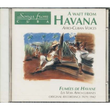 A Waft From Havana Afro Cuban Voices Cd