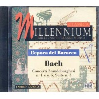 Bach - Concerti Brandeburghesi N. 1 E N. 5, Suite N. 3 Cd