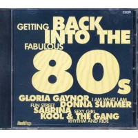 Back Into The 80S - Gloria Gaynor/Kool & The Gang/Sabrina/Donna Summer Cd