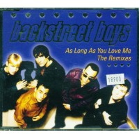 Backstreet Boys - As Long As You Love Me Remixes Cd