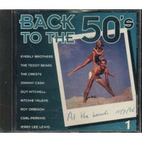 Back To The 50'S - Johnny Cash/Ritchie Valens/Carl Perkins/Jerry Lee Lewis Cd