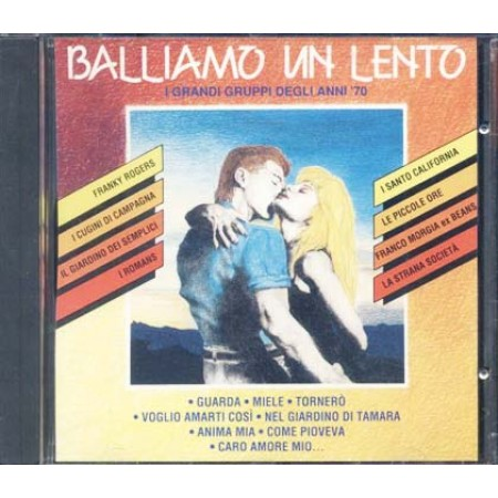 Balliamo Un Lento I Grandi Gruppi Anni 70 - Morgia/Beans/Romans/Strana Societa'