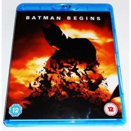 Batman Begins - Christian Bale/Nolan Uk Edt Con Audio Italiano Blu Ray