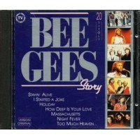 Bee Gees - Story Italy Press Cd
