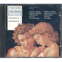 Beethoven - Sinfonia N. 2 E N. 5 Cd