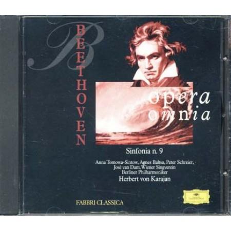 Beethoven - Sinfonia N. 9 Von Karajan Cd