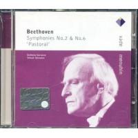 Beethoven - Symphonies 2 & 6 Pastorale (Menuhin) Cd