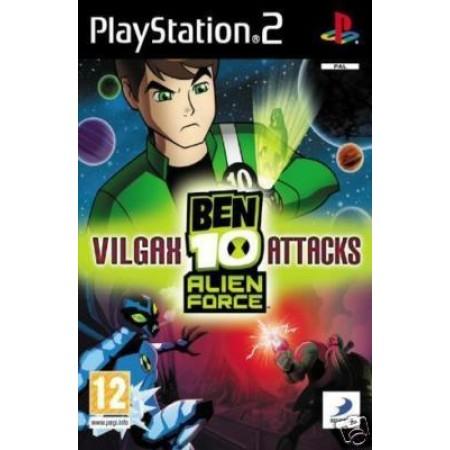 Ben 10 Alien Force Vilgax Attack Ps2