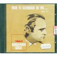 Beniamino Gigli - Non Ti Scordar Di Me Vol. 1 Cd