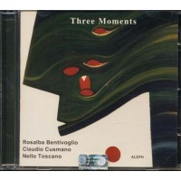 Bentivoglio/Cusmano/Toscano - Three Moments Cd