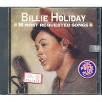 Billie Holiday - 16 Most Requested Songs Cd