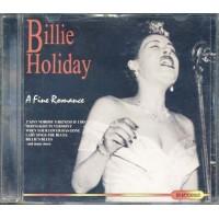 Billie Holiday - A Fine Romance Cd