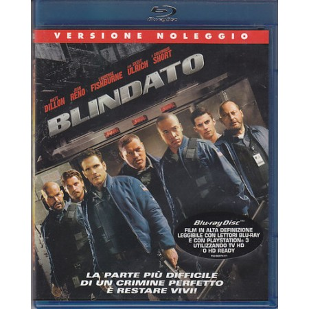 Blindato - Jean Reno'/Matt Dillon Blu Ray