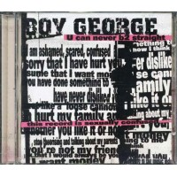 Boy George - U Can Never B2 Straight Cd