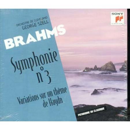 Brahms - Symphonie N. 3 (Haydn Sony Classica) Cd