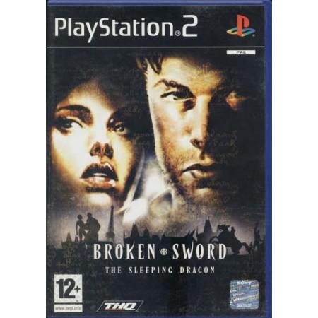 Broken Sword The Sleeping Dragon Uk Ps2