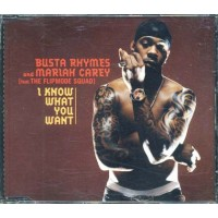 Mariah Carey & Busta Rhymes - I Know What You Want Cd