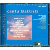 Canta Battisti - Bobby Solo/Gens/Mal/Dik Dik/Dino Cd