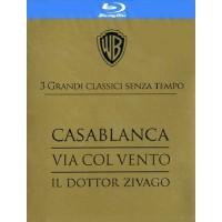 Casablanca/Via Col Vento/Dottor Zivago Grandi Classici Box 3 Blu Ray