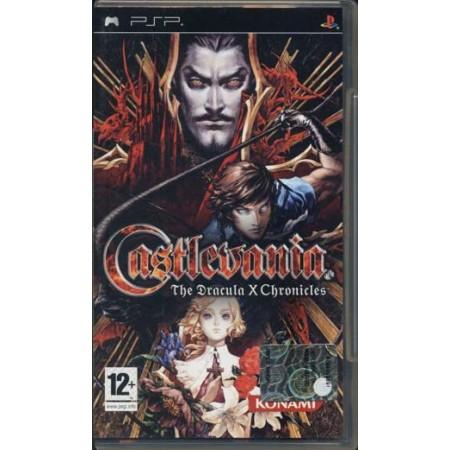 Castlevania Dracula X 1A Stampa Psp