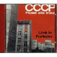Cccp Fedeli Alla Linea - Live In Punkow Cd