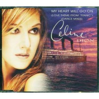 Celine Dion - My Heart Will Go On Dance Mixes Cd