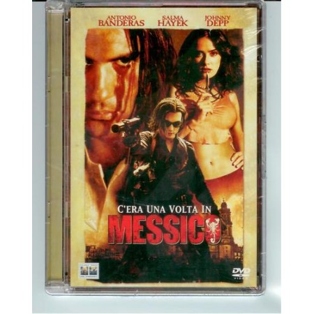 C' Era Una Volta In Messico - Antonio Banderas/Johnny Depp Super Jewel Box Dvd
