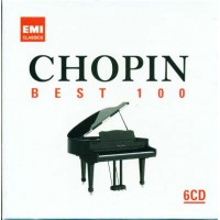 Chopin - Best 100 Custom Case Caronato 6X Cd