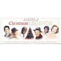 Christmas Legends - Frank Sinatra/Bing Crosby/Nat King Cole/Lanza Box 6X Cd
