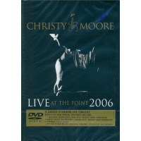 Christy Moore Live At The Point 2006 (The Gig/Sound Check) Digipack Dvd