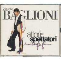 Claudio Baglioni - Attori E Spettatori Autografato! Box 2x Cd