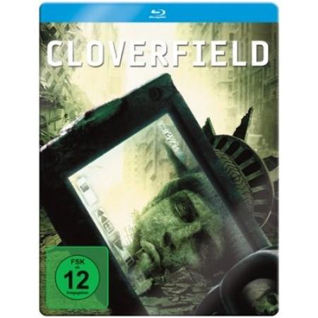 Cloverfield Limited Steelbook Blu Ray New Edizione Tedesca Audio Italiano