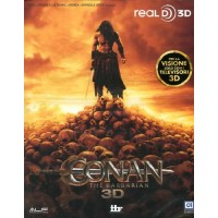 Conan The Barbarian Slim Case Real 3D Blu Ray